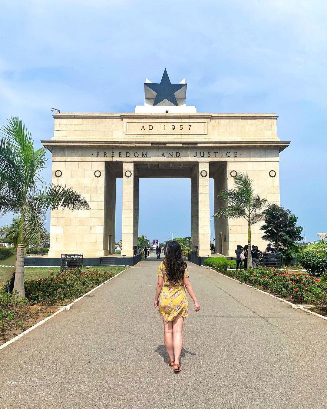 Monument in Accra