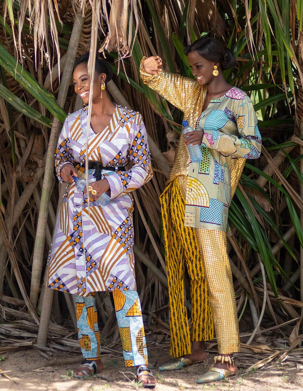 women styles with ankara
