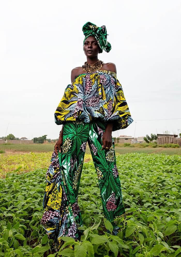 ankara fabric styles
