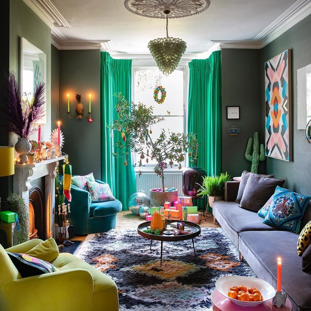 aesthetic small living rooms
