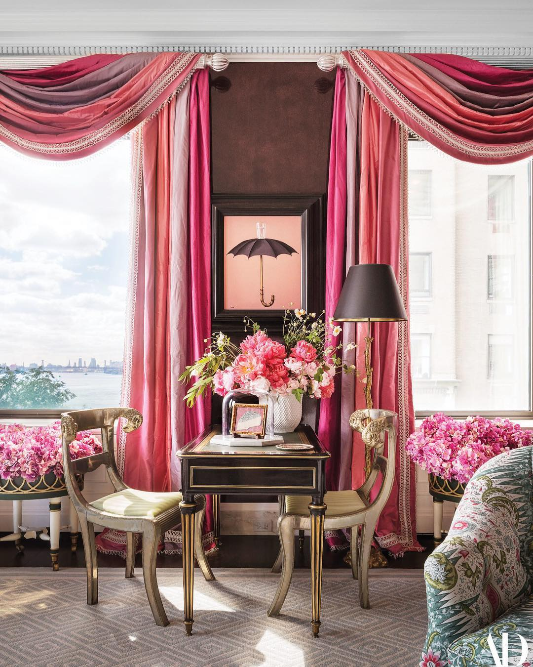 Aesthetic floral home decors