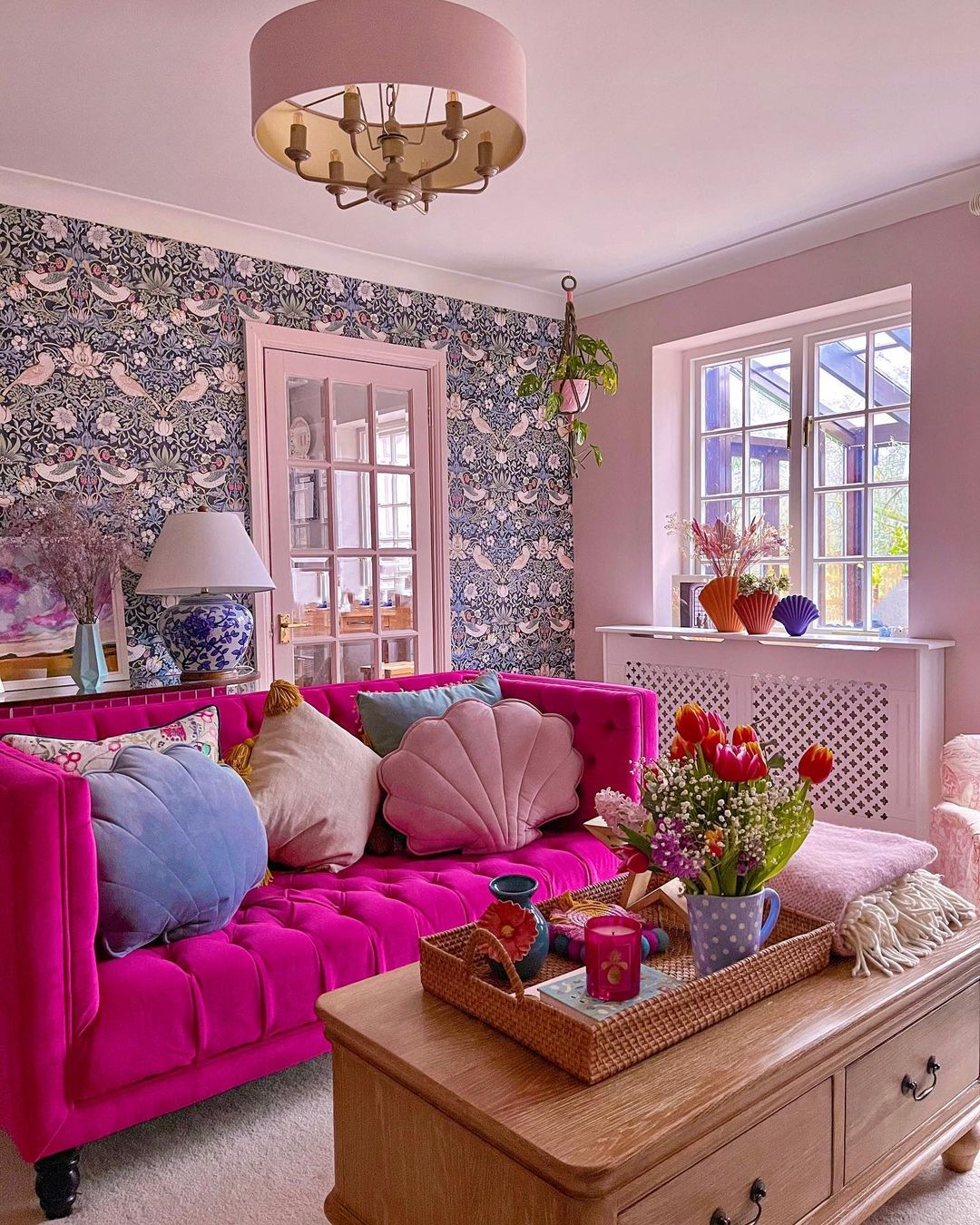 Aesthetic floral decors