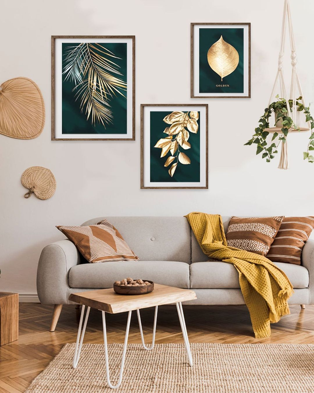 affordable gold home accents