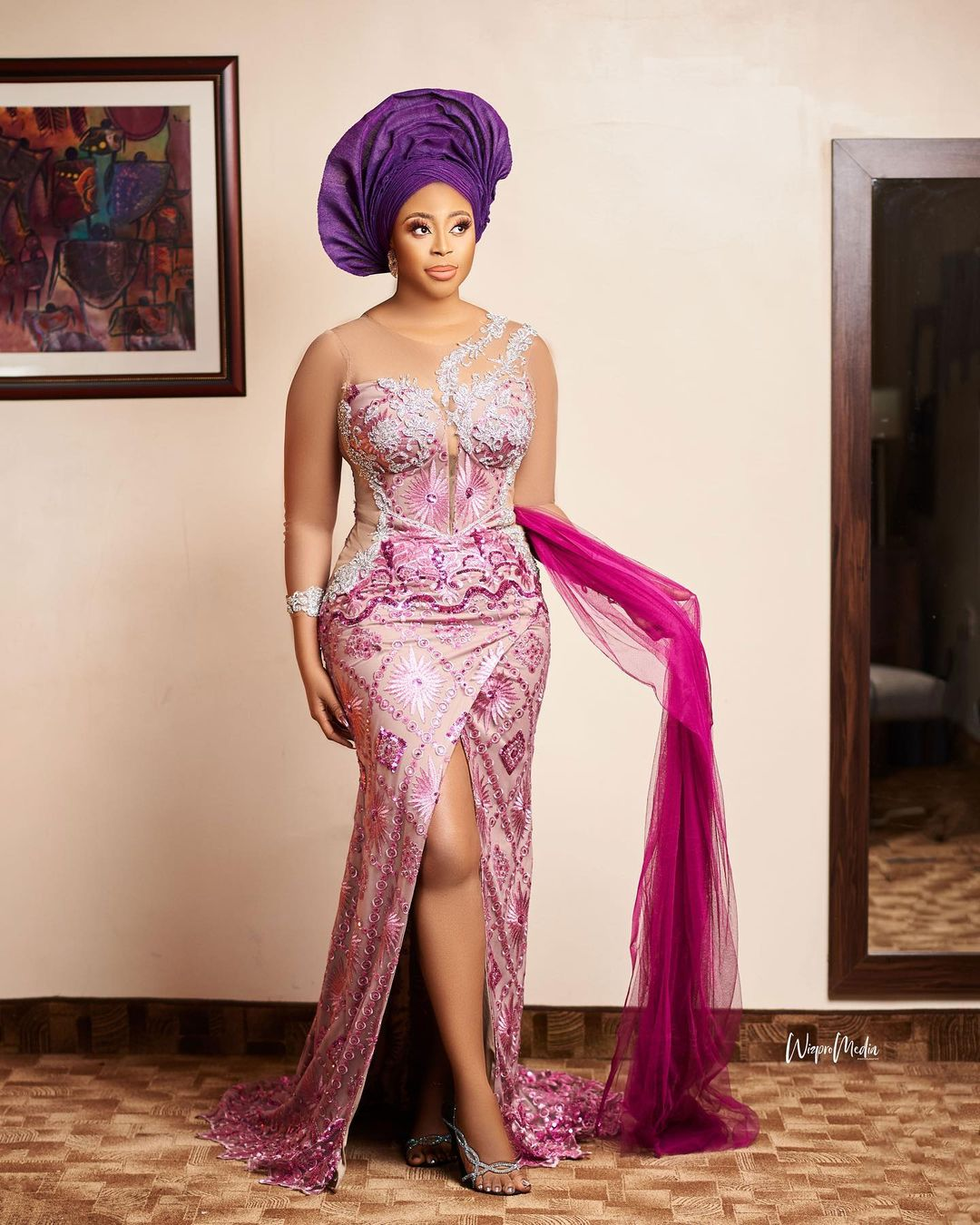 african traditional bride