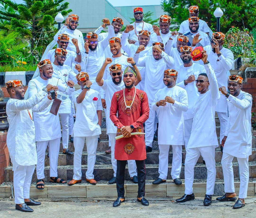 traditional groomens squad goals