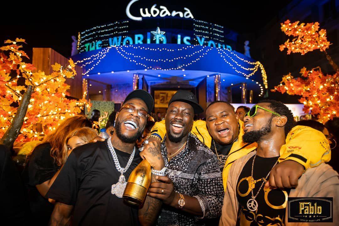 Naija celebrities partying in lagos