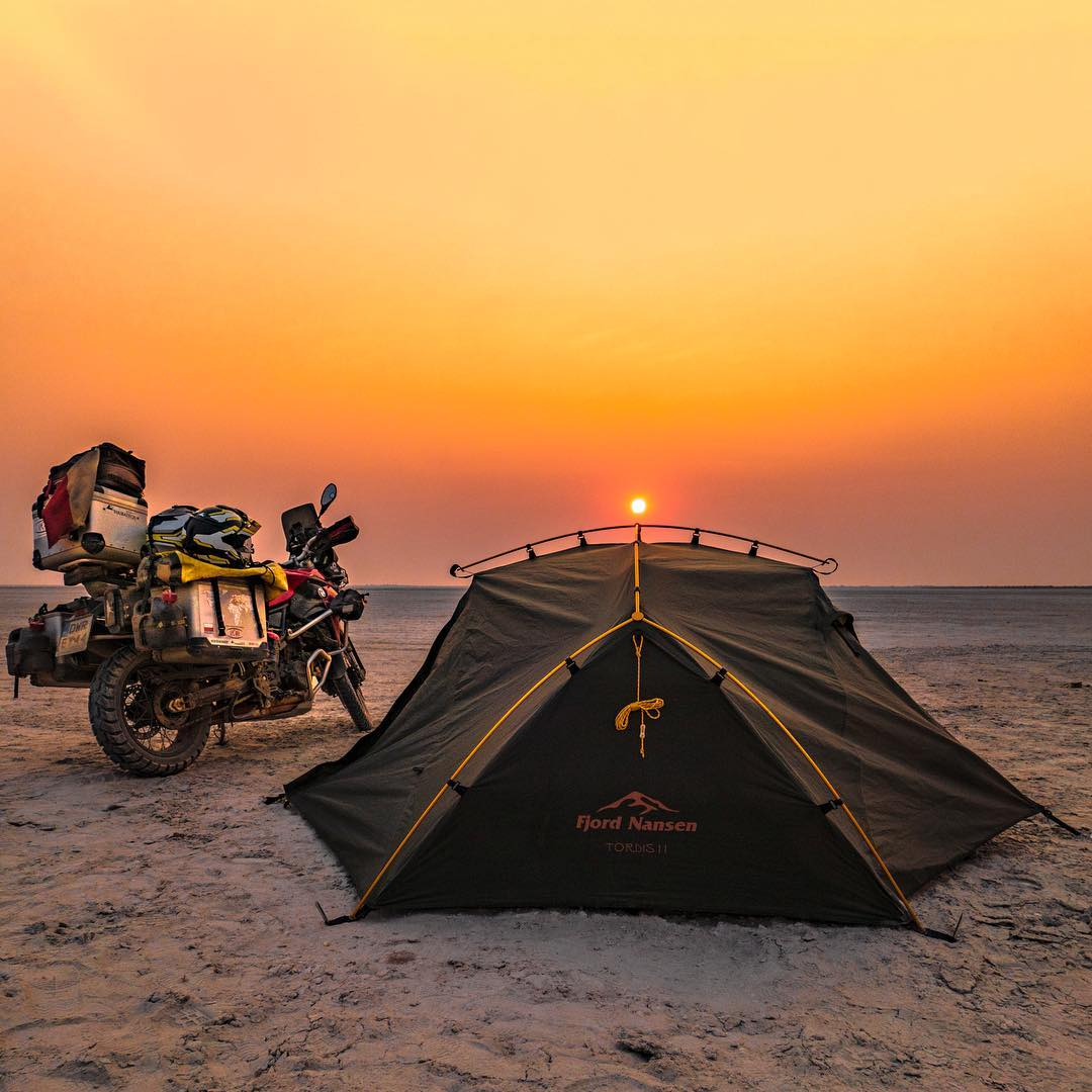 top camping places in Botswana